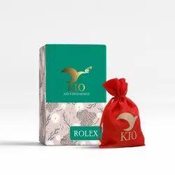 Kio Rolex Air Freshener For Office, Home, Car,Cupboard