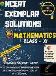 Spark Publishing House English NCERT EXEMPLAR SOLUTIONS MATHEMATICS CLASS XI (11th) (By IITians) ISBN
