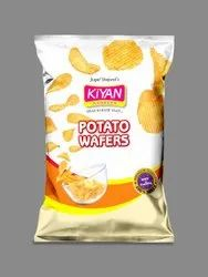 Tomato Kiyan Spicy Crunchy Potato Wafers, Packet, Packaging Size: 80g