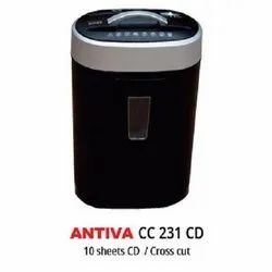 Antiva Paper Shredders CC 231CD