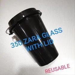 Transparent Plain Disposable Reusable Plastic Glass Zara