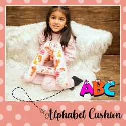 Alphabet Shaped Cushion