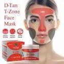 D Tan T Zone Face Mask