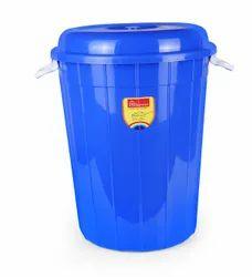 Hariware HDPE Plastic garbage (storage) drum 100 litter, For Water Storage