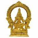 Gold Plated Annapoorani Statue