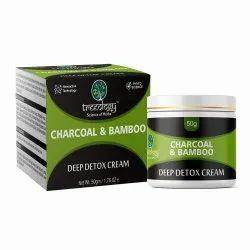 Charcoal Bamboo Deep Detox Cream