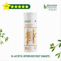 N-Acetyl Cysteine Effervescent Tablets 10's
