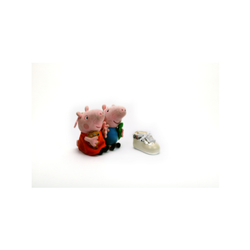 Enameled Shoe Piggy Bnak For Kids