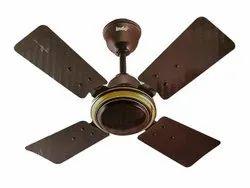 Brown Indo Electrical Ceiling Fan, Fan Speed: 400 Rpm