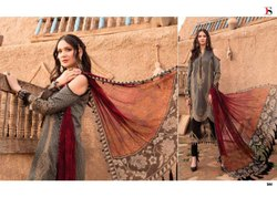 Maria B Lawn 21 By Deepsy Cotton Pakistani Salwar Kameez