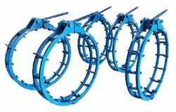 external manual cage type pipe clamp