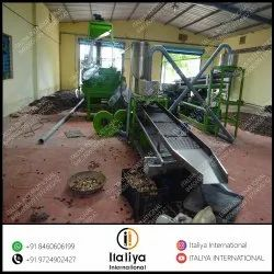 Automatic Cashew Scooping Line