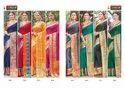 Sangam Prints Bansuri Vol 2 Handloom Silk Printed Saree Catalog