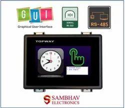 4.3 Inch RS232/485 Smart TFT LCD Display Module, Model Name/Number: HKT043ATA-1C