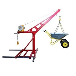 Red Portable Lift