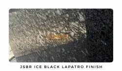 Ice Black Granite Slab, For Flooring And Countertops, Thickness: 17 mm