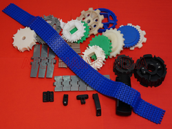 Single Roller Conveyor Components