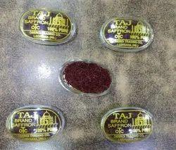 Taj(OTC) Organic India Saffron, For Food, Packaging Type: Plastic Box