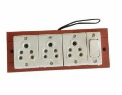 16A 3.1 Wooden Electric Switch Board