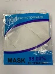 Disposable N95 Mask, Certification: ISO, Number of Layers: 5 Layer
