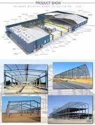 Steel Prefab PEB Portal