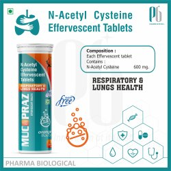 Mucopraz Effervescent Tablet