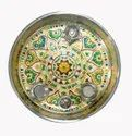 11 Inch Stainless Steel Pooja Thali