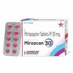 30 mg Mirtazapine Tablets