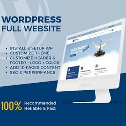 PHP/JavaScript Dynamic Wordpress Website Development Service, With 24*7 Support