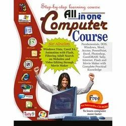 All in One Computer Course Hindi and English Books