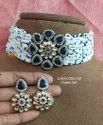 Blue Round Artificial Jewellery