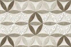 Multicolor Ceramic Tiles Glass Bathroom Tiles, Thickness: 5-10 mm