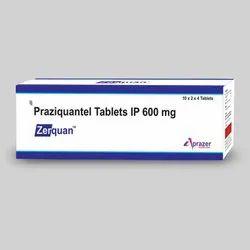 Praziquantel Tablet Ip 600 mg Zerquan Tablets, Prescription