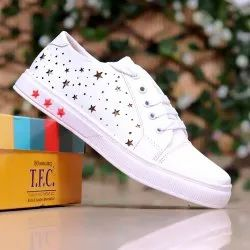 Canvas Shoes Party Wear TFC Casual Ladies Footwear