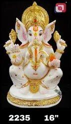 Polyresin Ganesha Statue