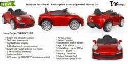 Painted Red, Painted Blue 1*6V7Ah Battery Operated Ride On Car