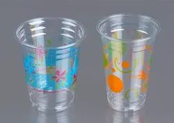 Printed Plastic Disposable Glass, Cups, Bowls, Containers
