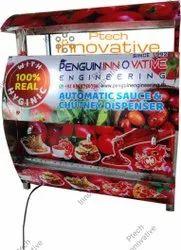 Automatic Tomato Sauce Dispenser