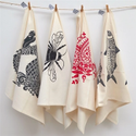 Cotton Printed Tea Towels