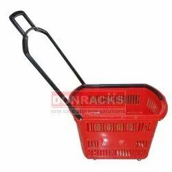 Hydraulic Plastic Shopping Trolley