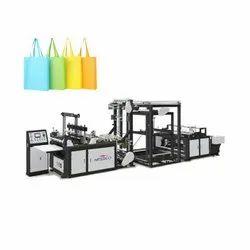 Nessco Automatic Non Woven Bag Manufacturing Machine (100Pcs/Min), Capacity: 80-100 (Pieces Per Hour), 15 KW