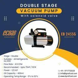 Double Stage Vacuum Pump 4.5CFM EB245SG