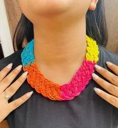 Mansi Beads Multicolor Beaded Necklace
