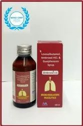 Embroxia LS Syrup, Packaging Type: Bottle