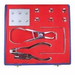 API Dental Rubber Dam Kit Paedo With 6 Clamps