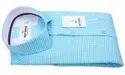 Cotton Casual Mens Checked Shirt