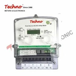Techno Three Phase Dual Source Pre- Payment Meter, Model Name/Number: Tmcb0 13 Lora, 3*240