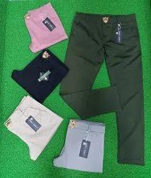 Cotton Chinos Men Slim Fit Trouser, Size: 32