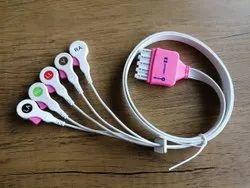 Covidien Kendall Compatible Disposable ECG Leadwire