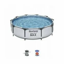 Bestway 10Ft. Round Max Frame Pool with Filter